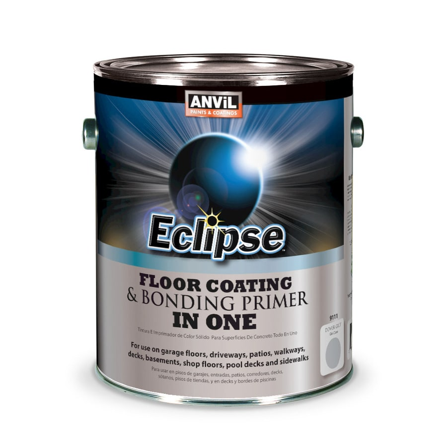 Anvil Paints Eclipse Pre-Tinted Dover Grey Solid Exterior Stain (Actual Net Contents: 128-fl oz)