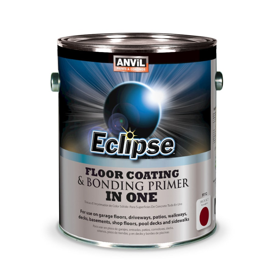 Anvil Paints Eclipse Pre-Tinted Brick Red Solid Exterior Stain (Actual Net Contents: 128-fl oz)