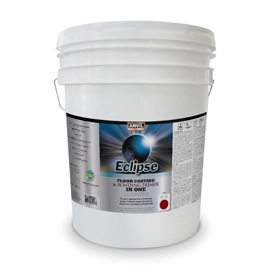 Anvil Paints Eclipse Pre-Tinted Brick Red Solid Exterior Stain (Actual Net Contents: 640-fl oz)