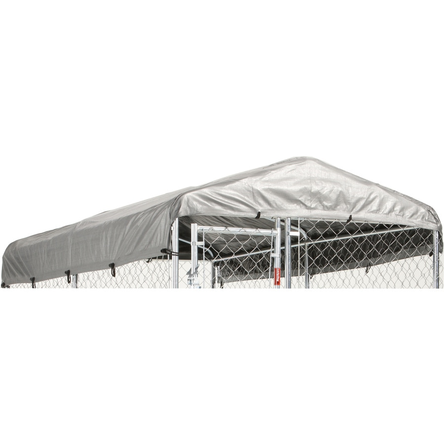 Lucky Dog 120-in L x 60-in W Plastic Roof Kit Kennel Cover