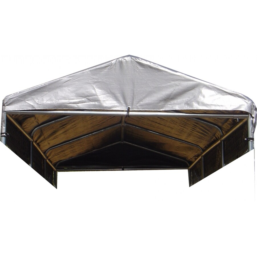 Lucky Dog 180-in L x 60-in W Plastic Roof Kit Kennel Cover