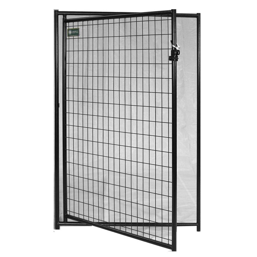 AKC 4-ft x 6-ft Outdoor Dog Kennel Gates