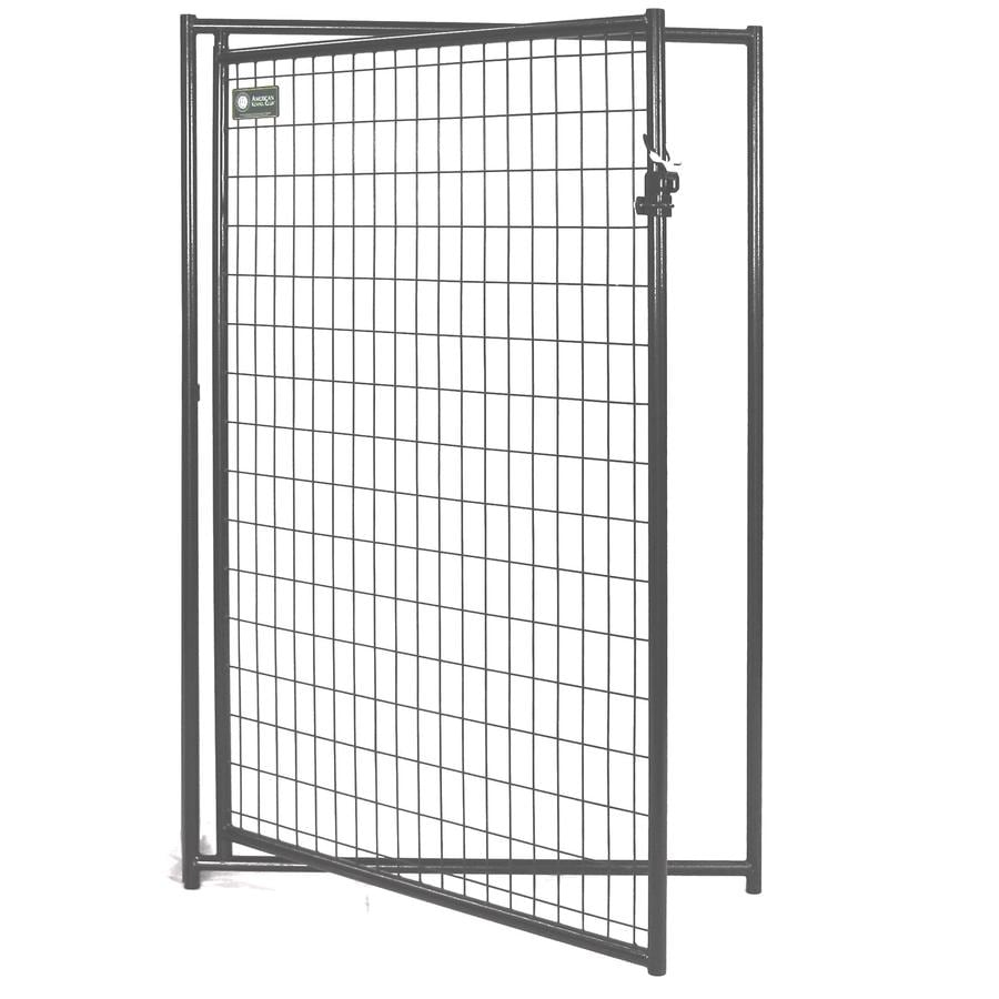4-ft x 4-ft Outdoor Dog Kennel Gates