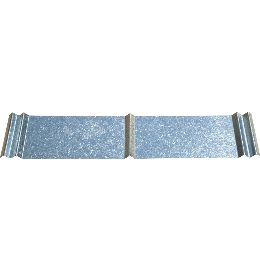Union Corrugating 2.33-ft x 10-ft Ribbed Steel Roof Panel