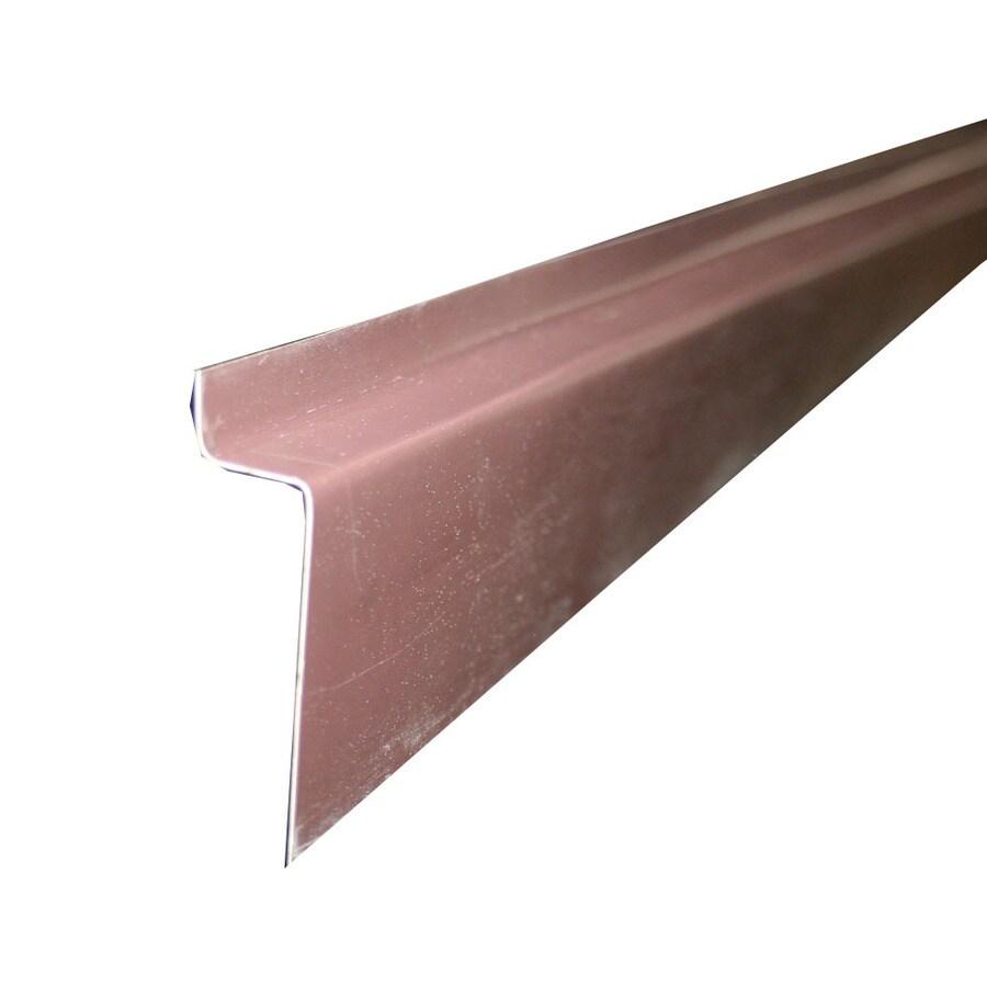 Union Corrugating 0.625-in Aluminum Drip Edge