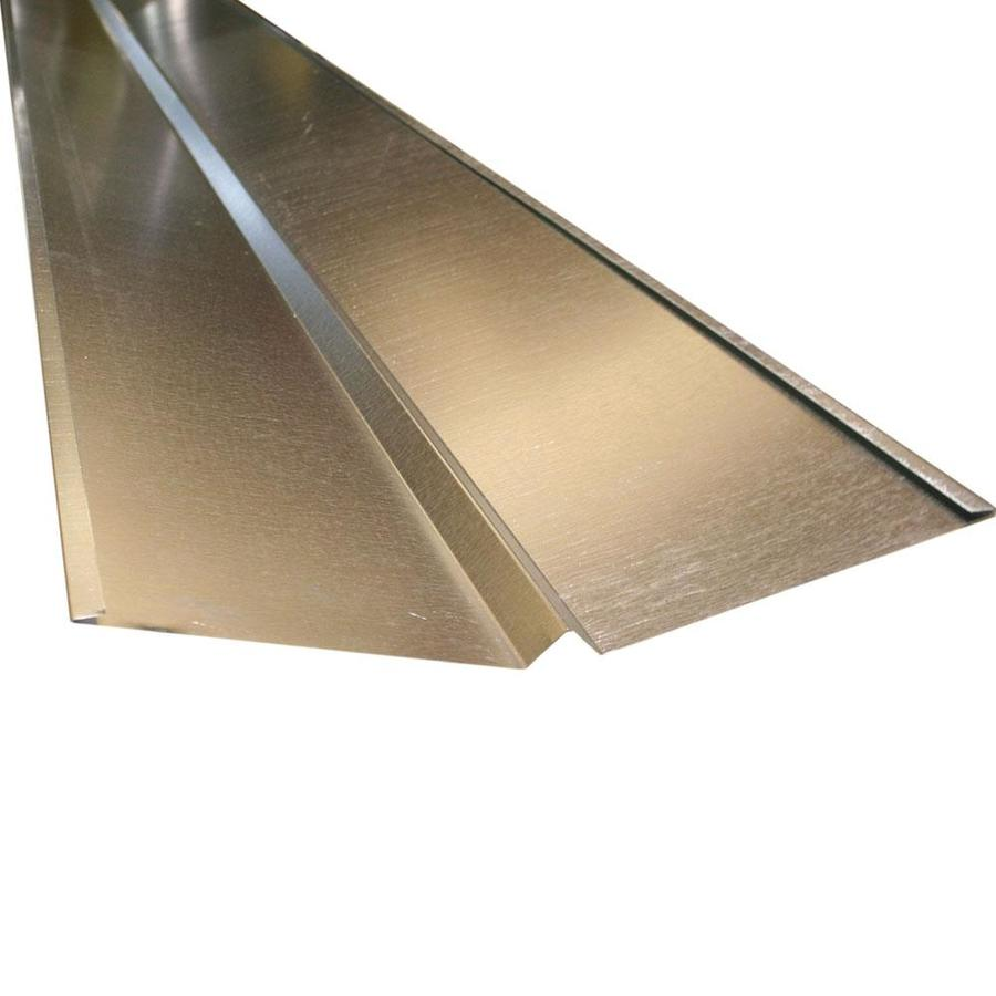 Union Corrugating 20-in x 1.6-in x 120-in Galvanized Steel Z Flashing