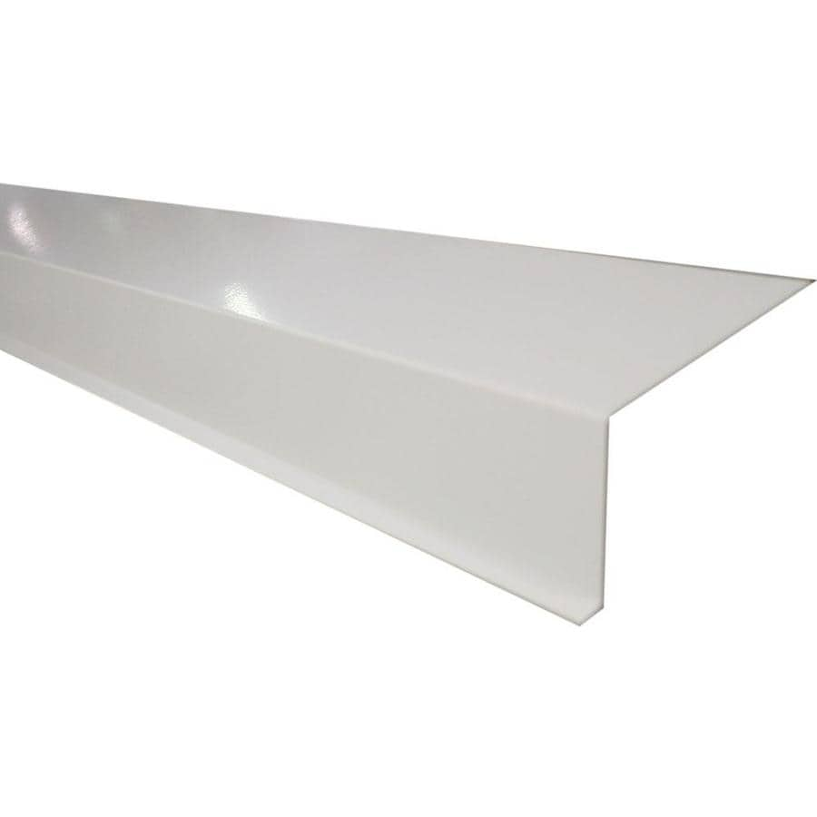Union Corrugating 4.13-in x 10-ft Aluminum Drip Edge