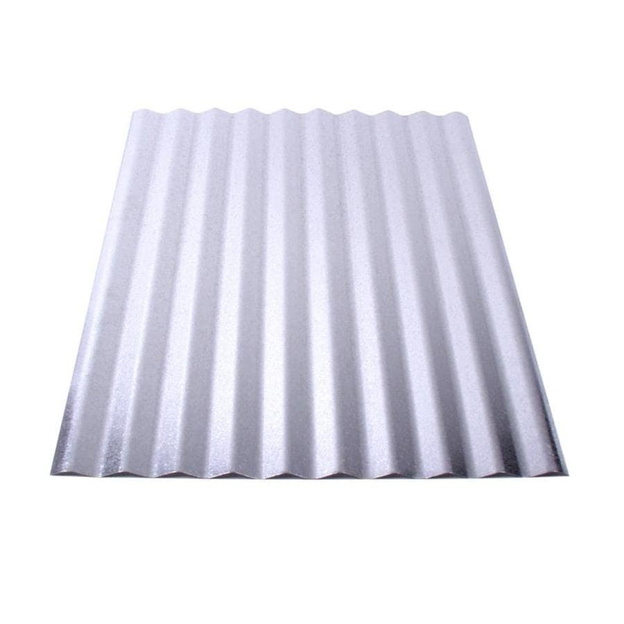 Union Corrugating 2.33-ft x 8-ft Corrugated Steel Roof Panel
