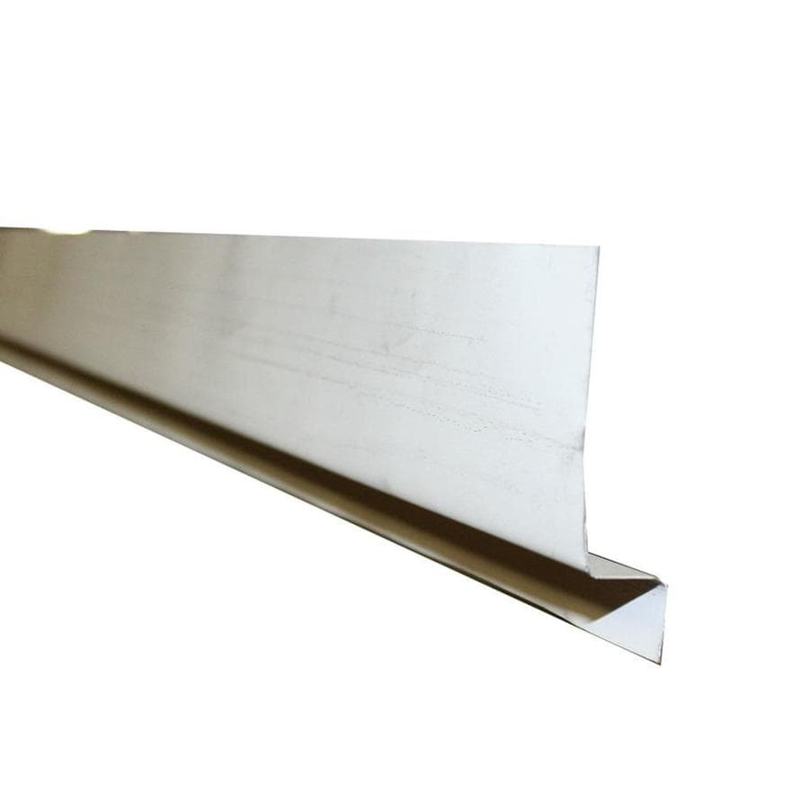 Union Corrugating 2.25-in x 10-ft Aluminum Sheet Flashing