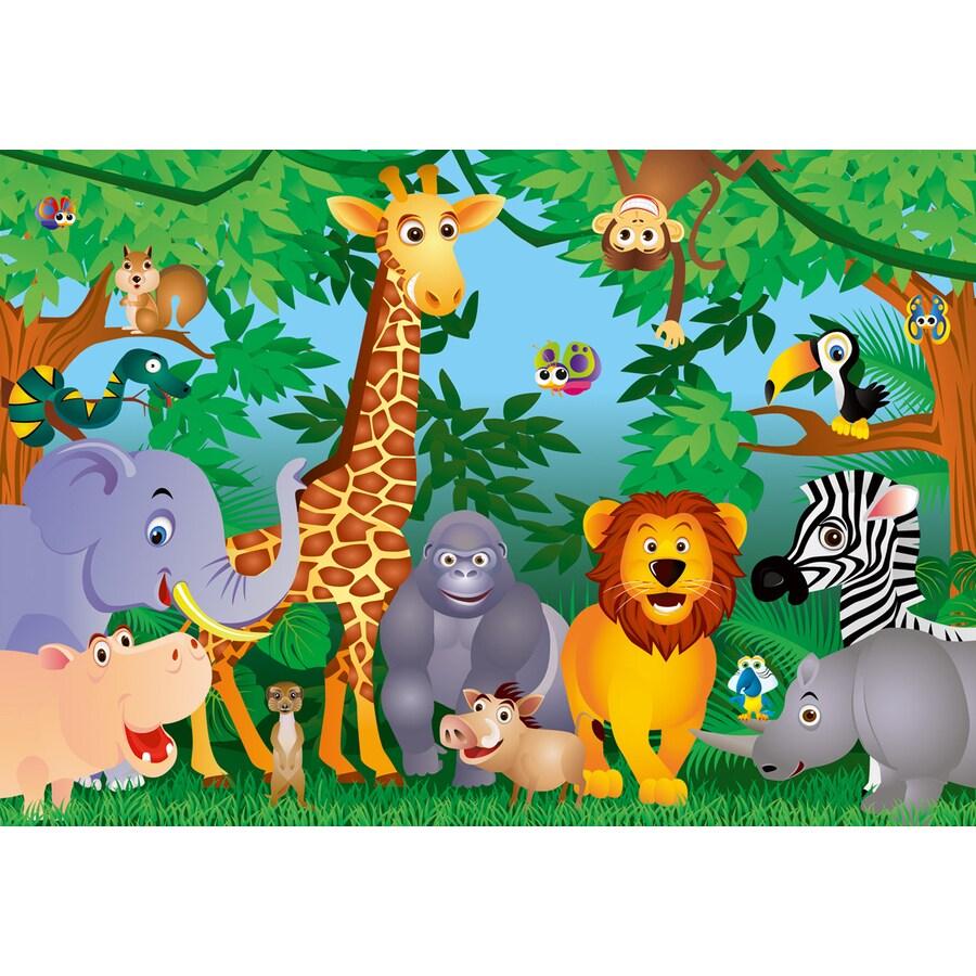 Brewster Wallcovering Ideal Decor Animals Murals