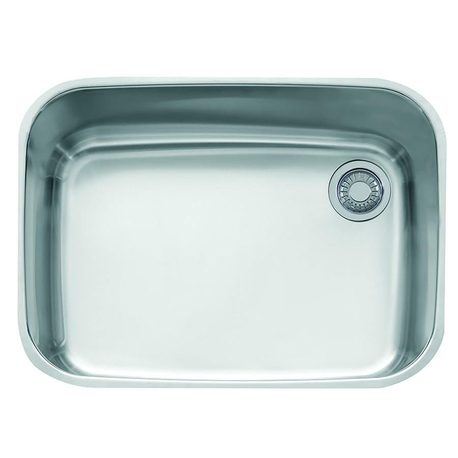 Franke EuroPro 20.875-in x 28.75-in Stainless Steel Single-Basin Undermount Residential Kitchen Sink