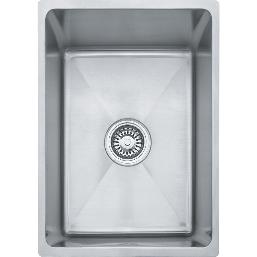 ... in Stainless Steel Single-Basin Undermount Commercial Kitchen Sink