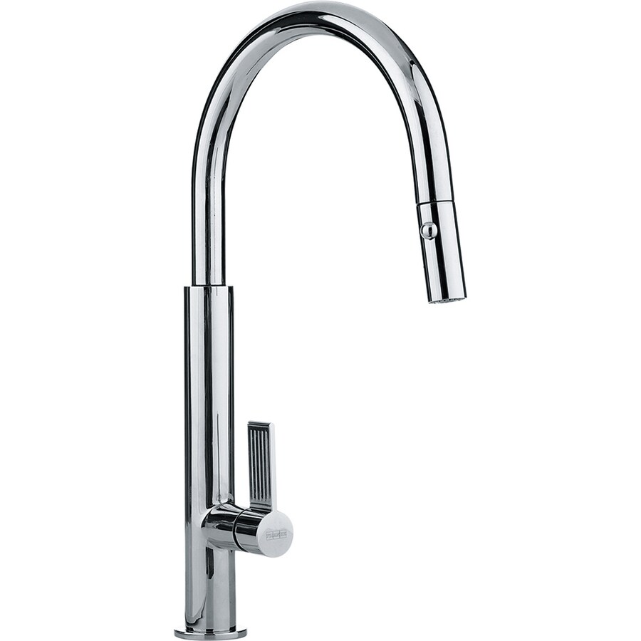 Franke Evos Chrome 1-Handle Pull-Down Kitchen Faucet