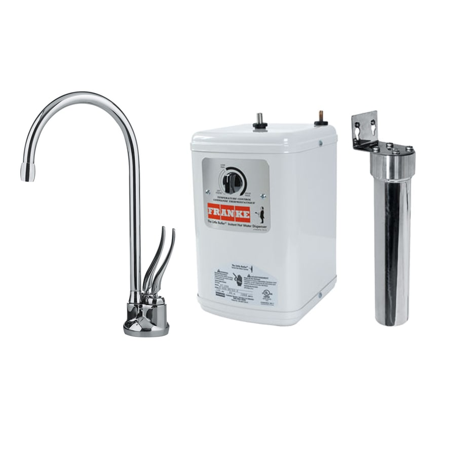 Franke Chrome Hot Water Dispenser with High Arc Spout