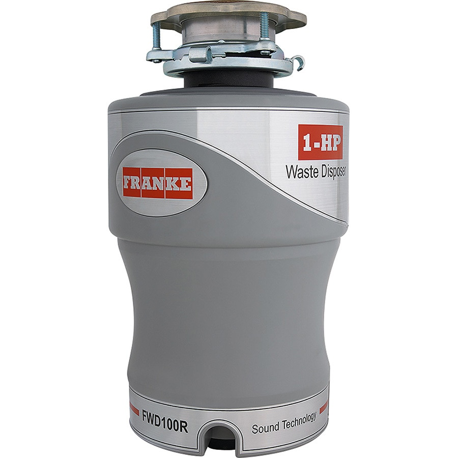 Franke 1-HP Noise Insulated Garbage Disposal