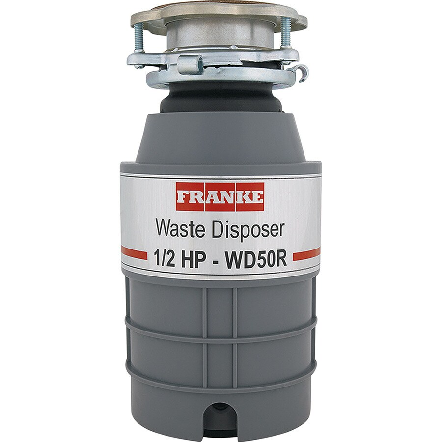 Franke 1/2-HP Noise Insulated Garbage Disposal