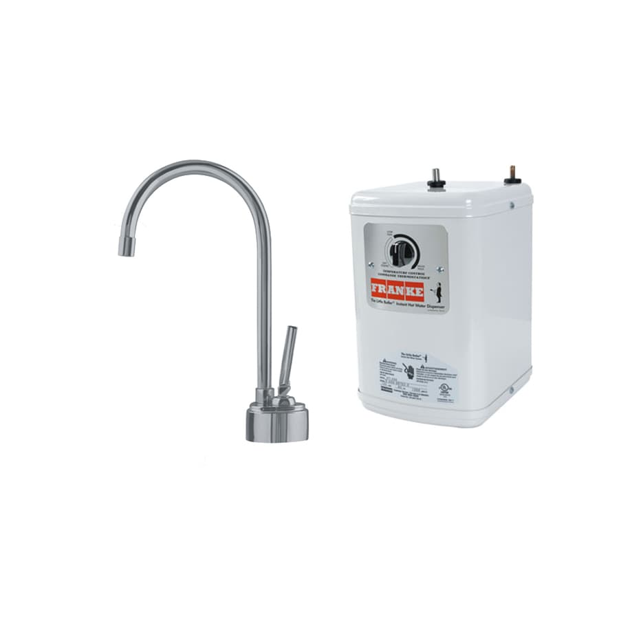 Franke Satin Nickel Hot Water Dispenser with High Arc Spout