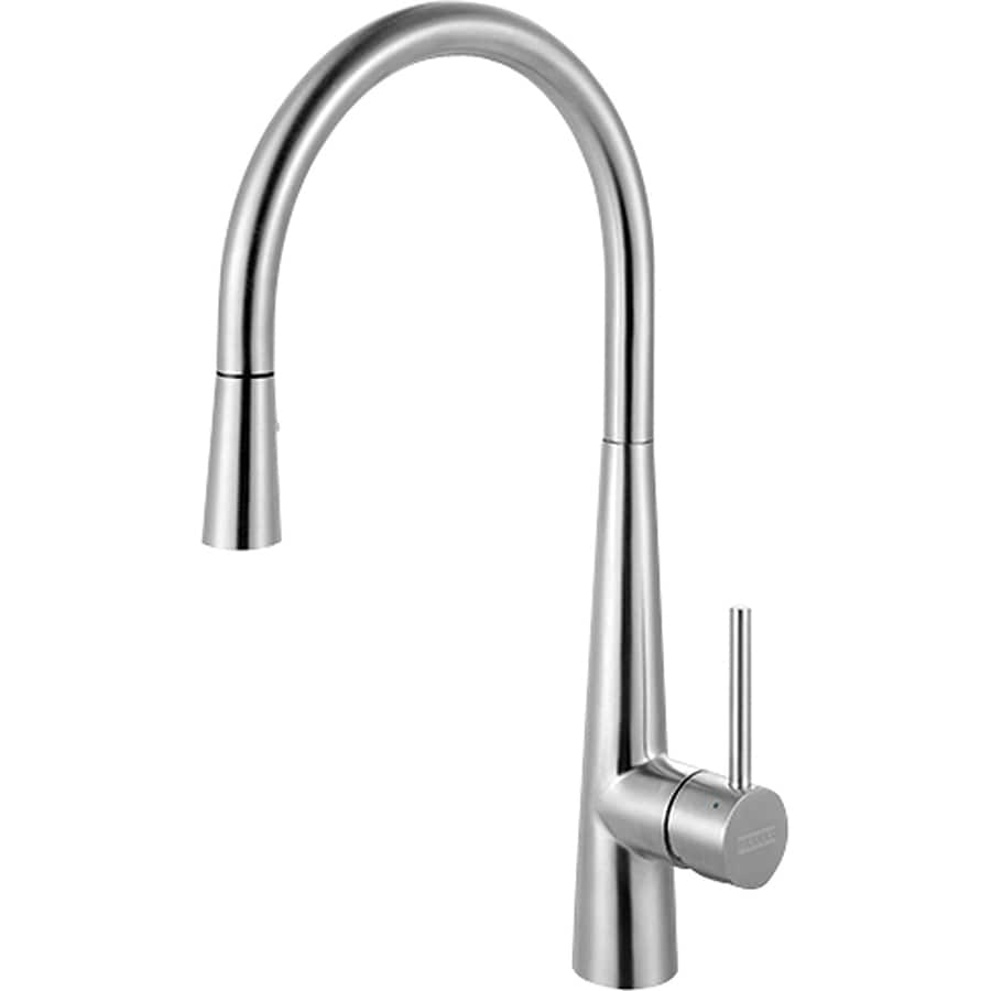 Franke Stainless Steel 1-Handle Pull-Out Kitchen Faucet