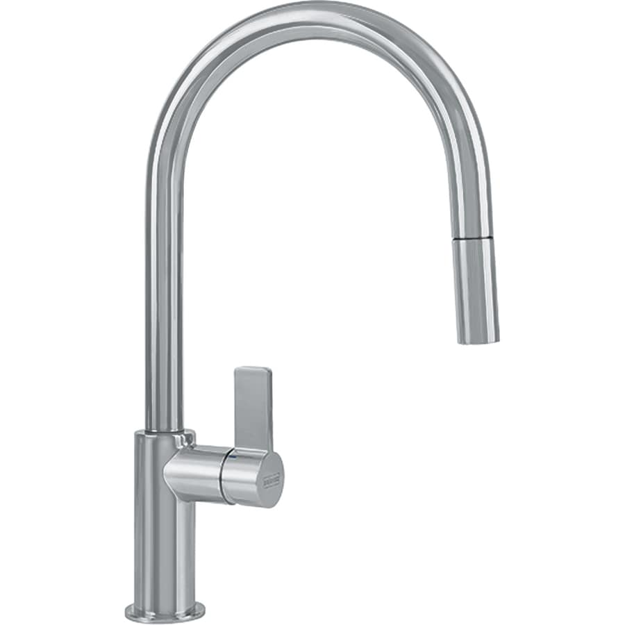 Franke Kitchen Faucet: Shop Franke Ambient Satin Nickel 1-Handle Pull-Out Kitchen