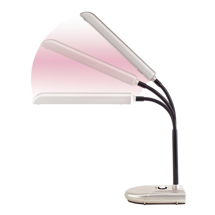 OttLite 18-in Adjustable Desk Lamp with Plastic Shade