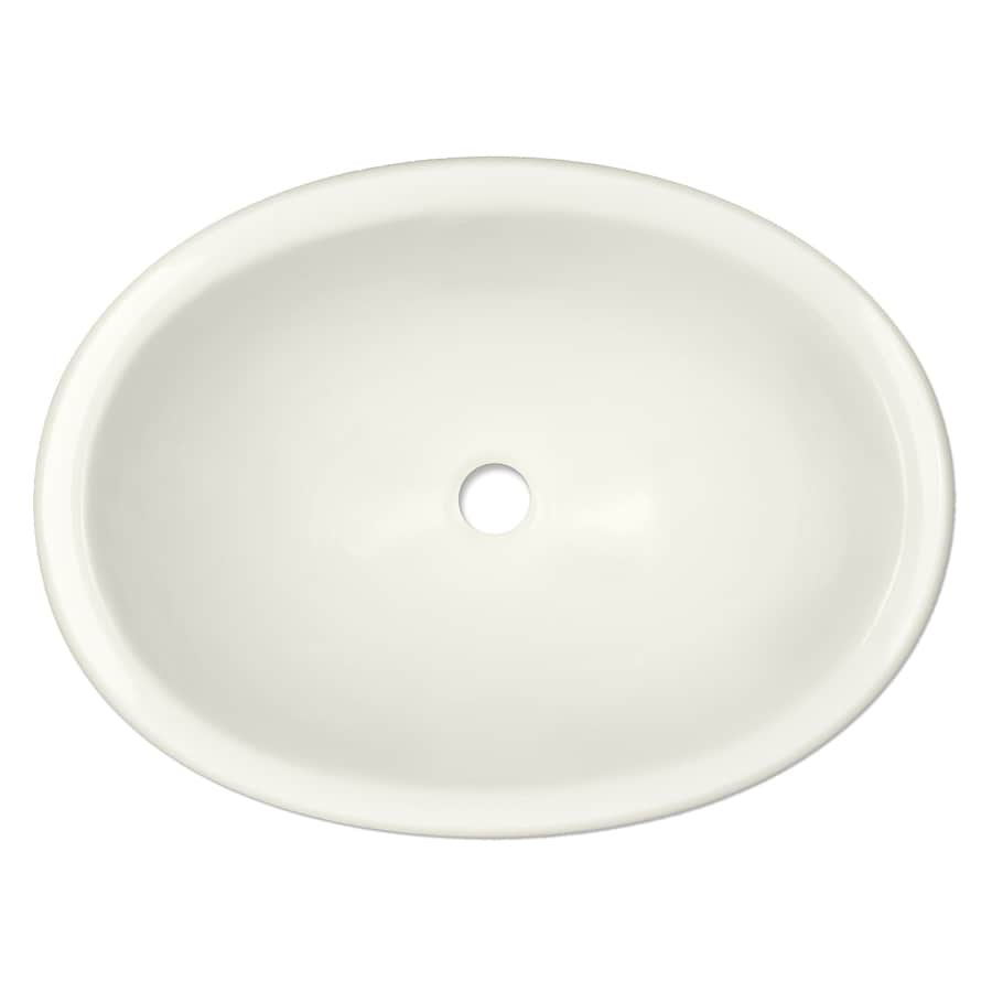 Shop CorStone Hemmingway Gloss Biscuit Acrylic Oval ...