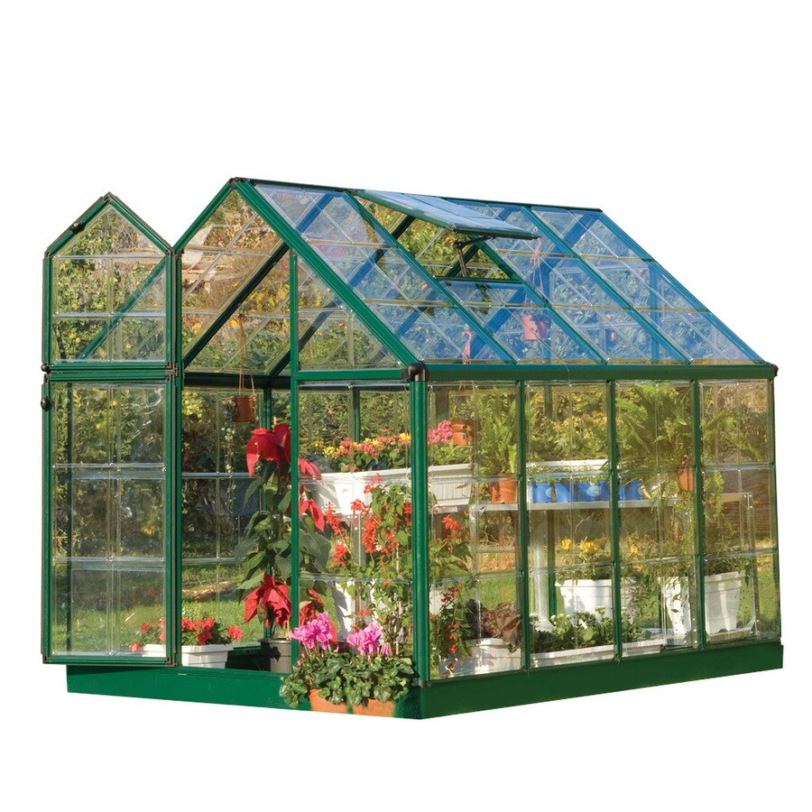 Palram 8.33-ft L x 6.2-ft W x 6.85-ft H Polycarbonate Greenhouse
