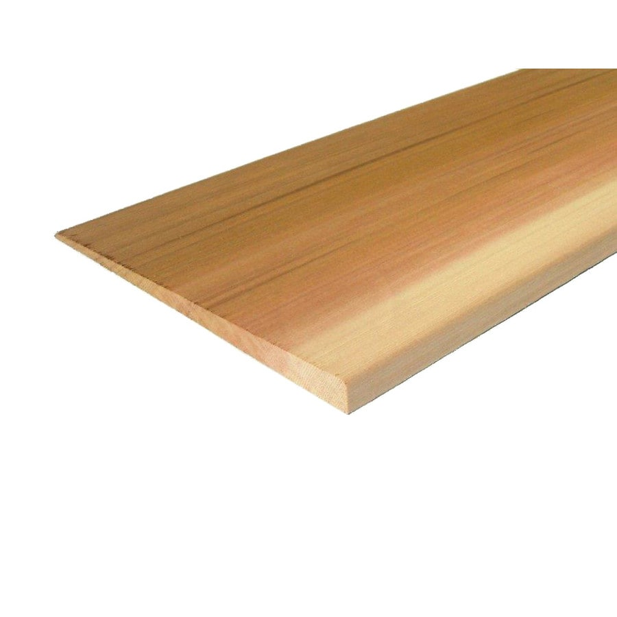 Natural Cedar Untreated Wood Siding Panel (Common: 1-in x 8-in x 144-in; Actual: 0.6875-in x 7.25-in x 144-in)