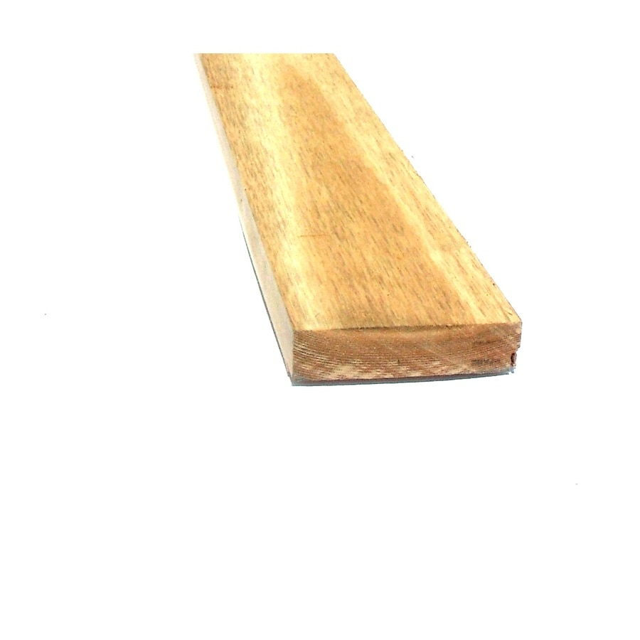 Top Choice Cedar Board (Common: 1-1/4-in x 4-in x 16-ft; Actual: 1.25-in x 3.5-in x 16-ft)