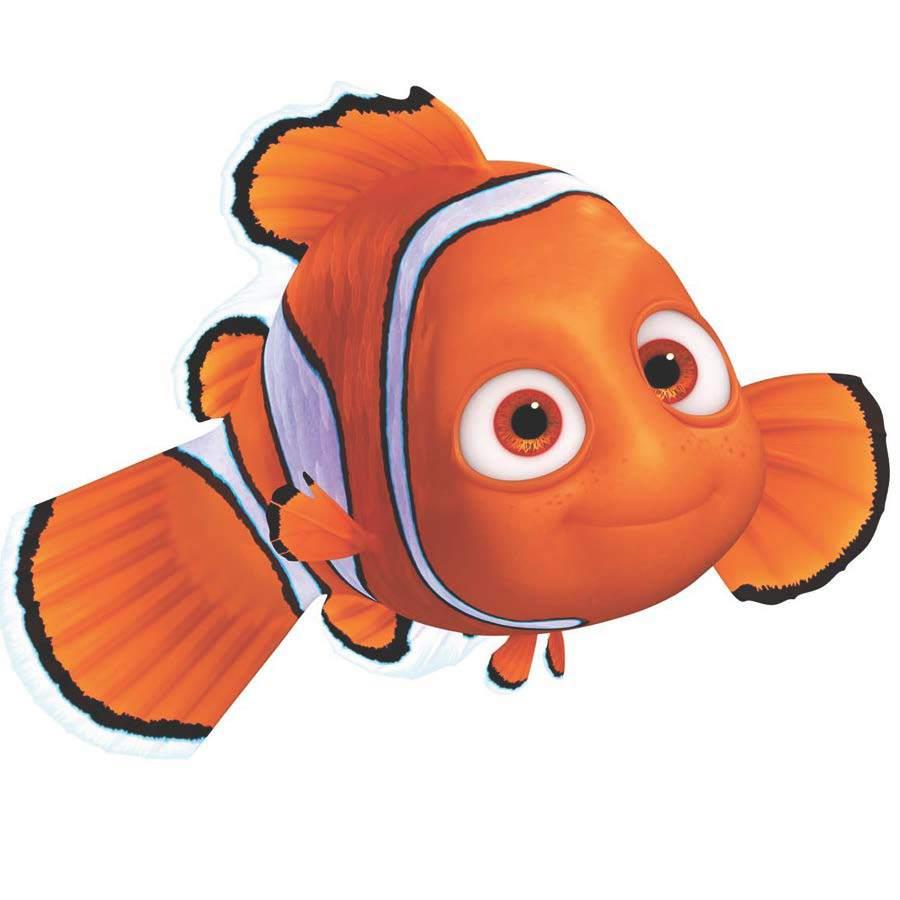 Hallmark Orange and White Nemo Ornament