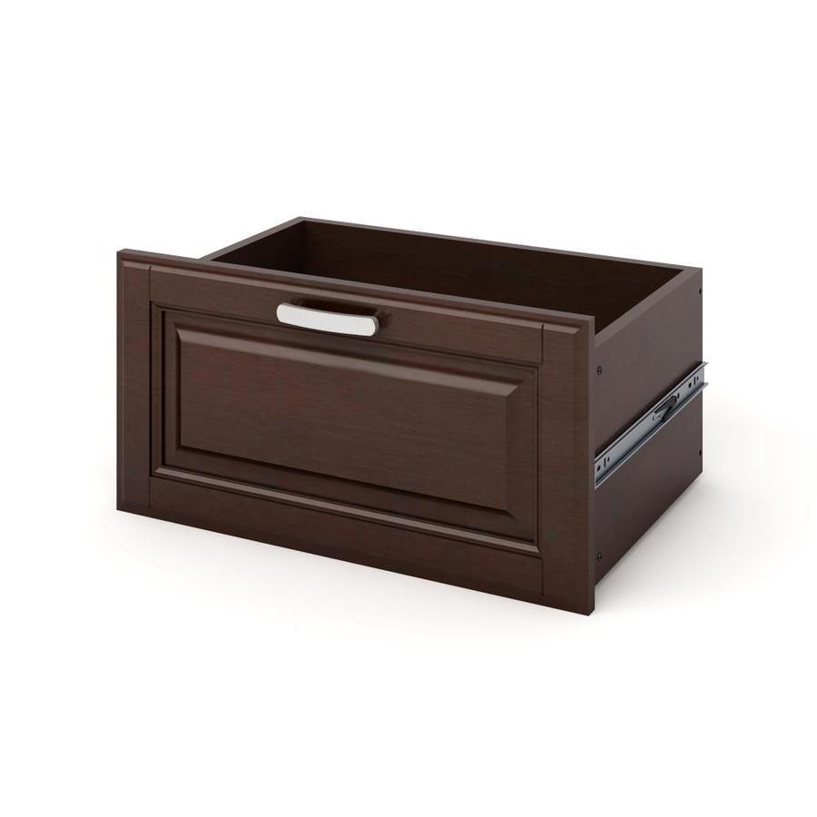 allen + roth Java Wood Drawer Unit