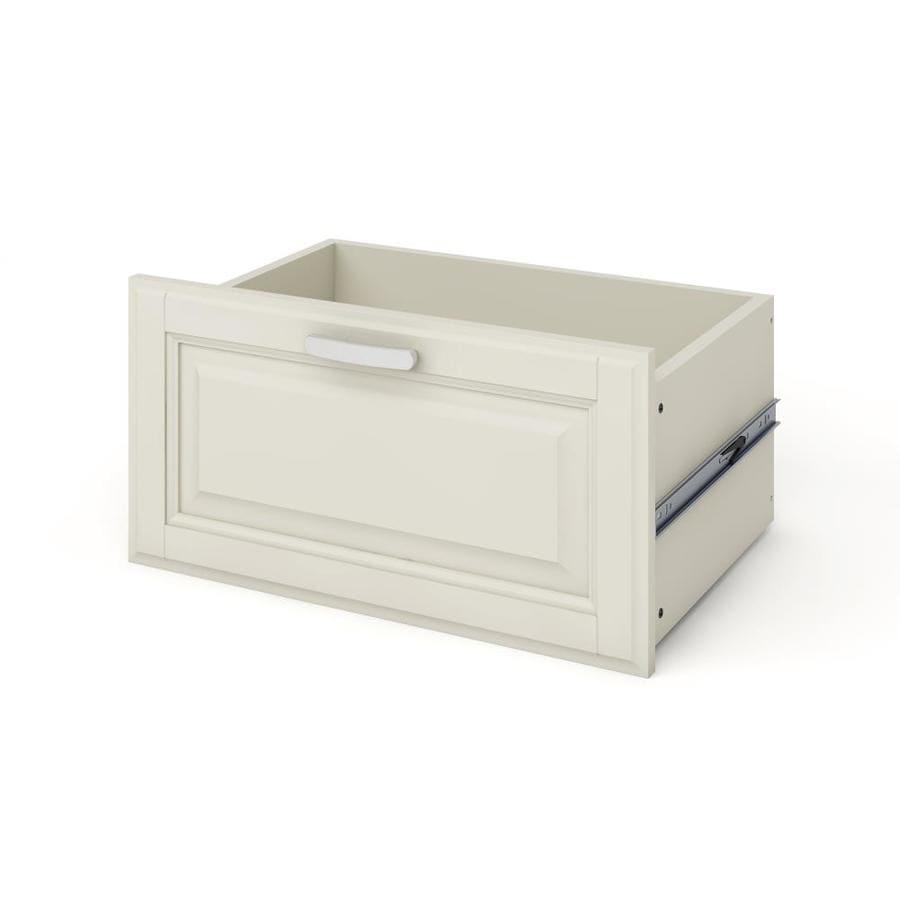 allen + roth White Wood Drawer Unit