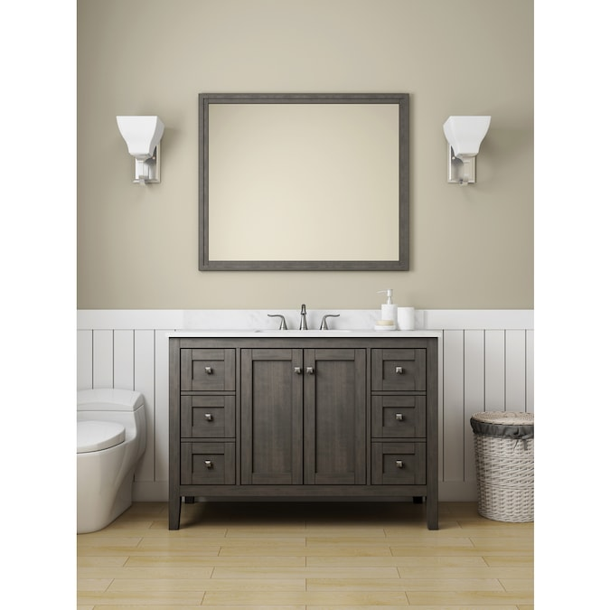 White Bathroom Cabinets Lowes