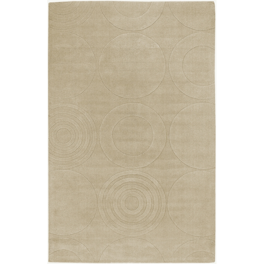 Artistic Weavers Mystique 8-ft x 11-ft Rectangular White Solid Area Rug