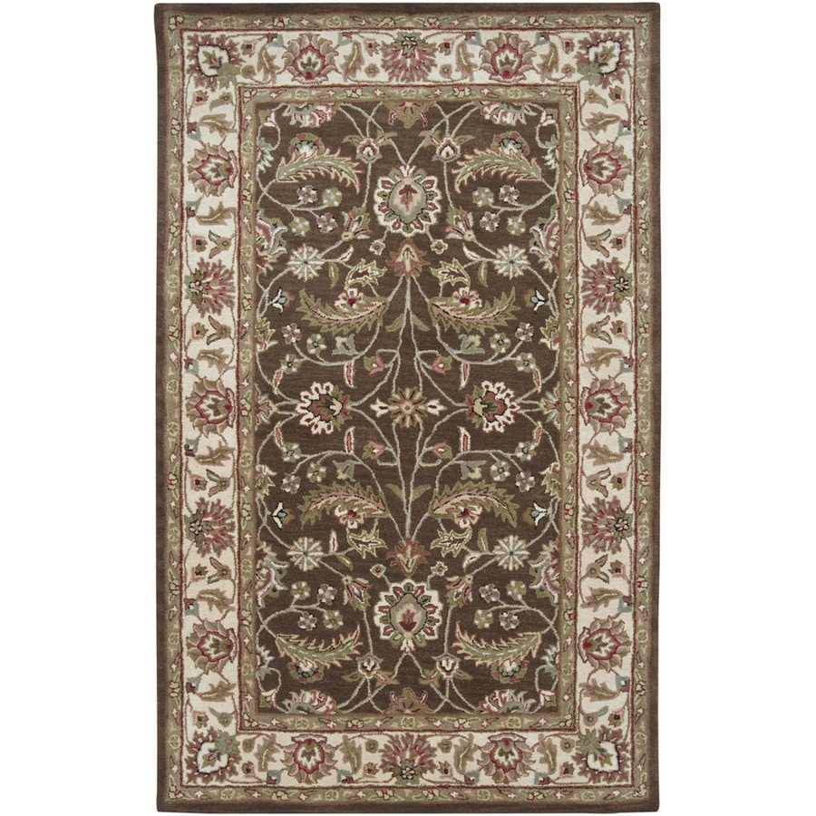 Artistic Weavers Tyneside Green Rectangular Indoor Tufted Area Rug (Common: 8 x 11; Actual: 96-in W x 132-in L x 2.4-ft Dia)