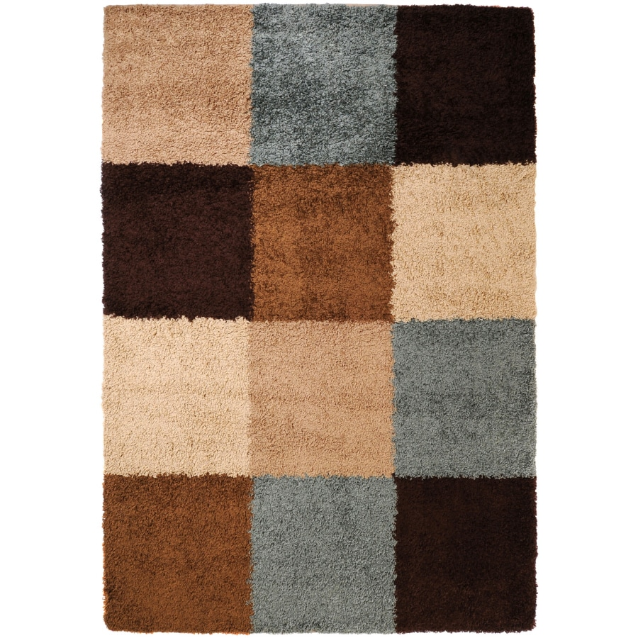 Artistic Weavers Concepts Rectangular Cream Geometric Woven Area Rug (Common: 5-ft x 8-ft; Actual: 5-ft x 8-ft)