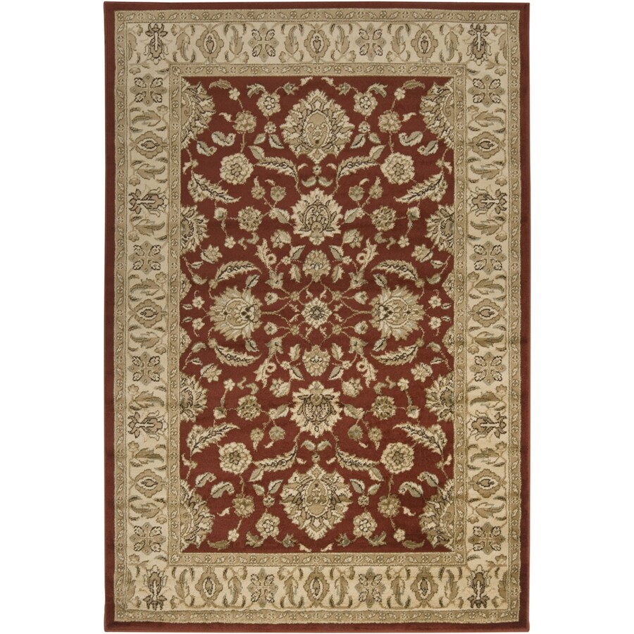 Artistic Weavers Madeira 7-ft 9-in x 11-ft 2-in Rectangular Red Floral Area Rug