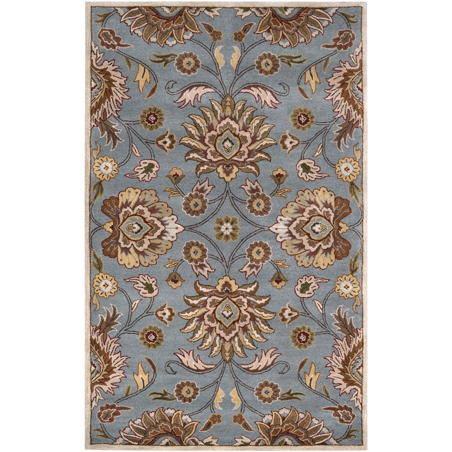 Artistic Weavers Medway Blue Rectangular Indoor Tufted Area Rug (Common: 8 x 11; Actual: 96-in W x 132-in L x 2.4-ft Dia)