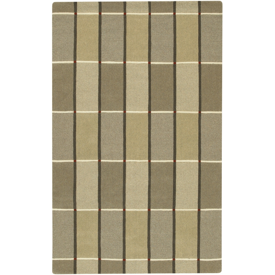 Artistic Weavers Mystique 8-ft x 11-ft Rectangular Brown Solid Area Rug
