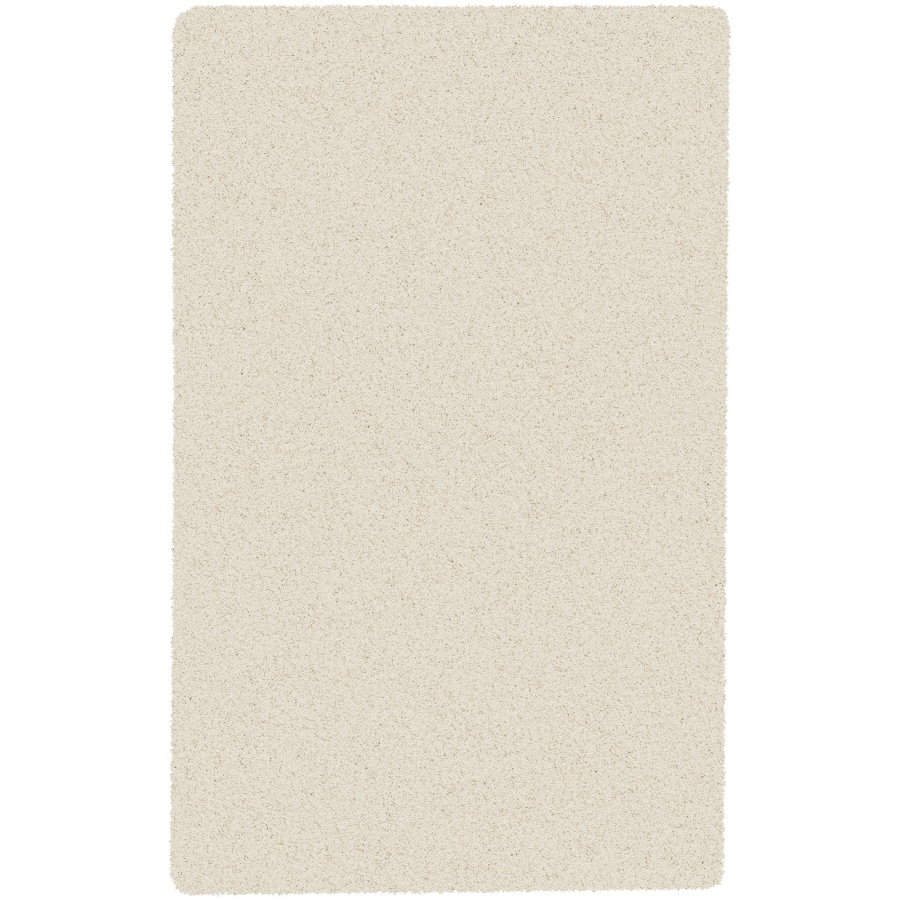 Artistic Weavers Crinkle White Rectangular Indoor Woven Area Rug (Common: 5 x 8; Actual: 60-in W x 96-in L x 1.7-ft Dia)