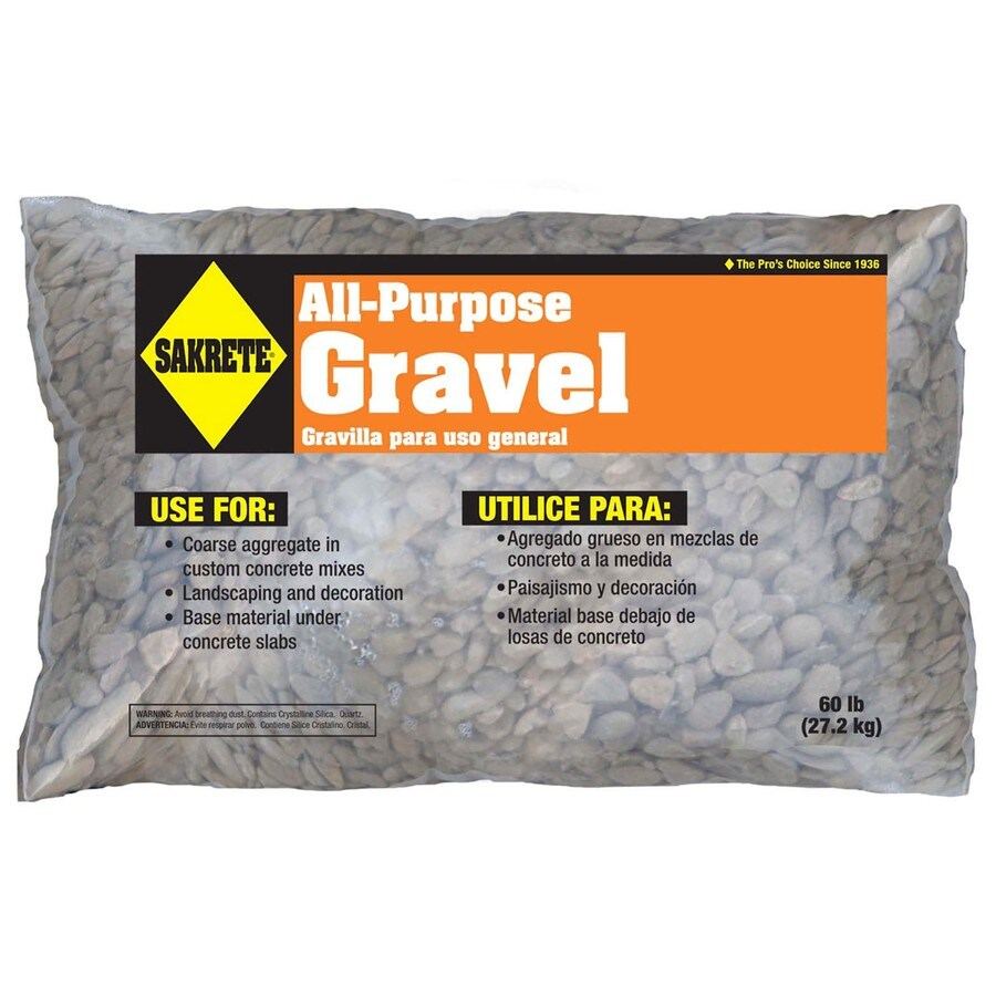 Shop Oldcastle 60 Lb All Purpose Gravel At Lowes Com