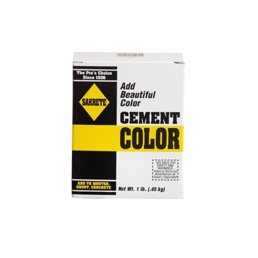 Sakrete 1-lb Buff Cement Mix Color