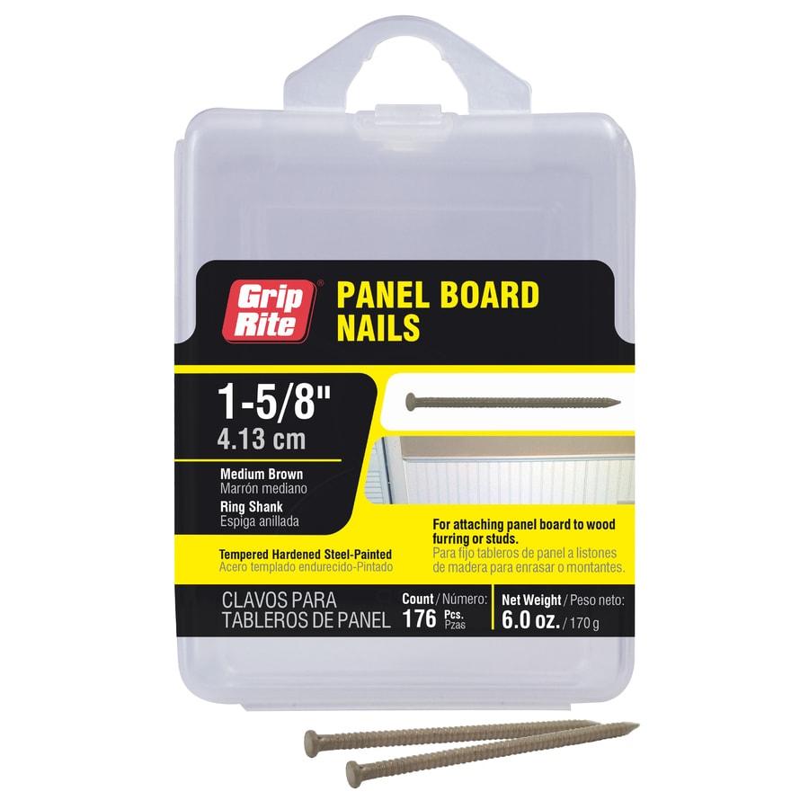 Grip-Rite 6-oz 16.5-Gauge 1-5/8-in Brown Panel Board Nails
