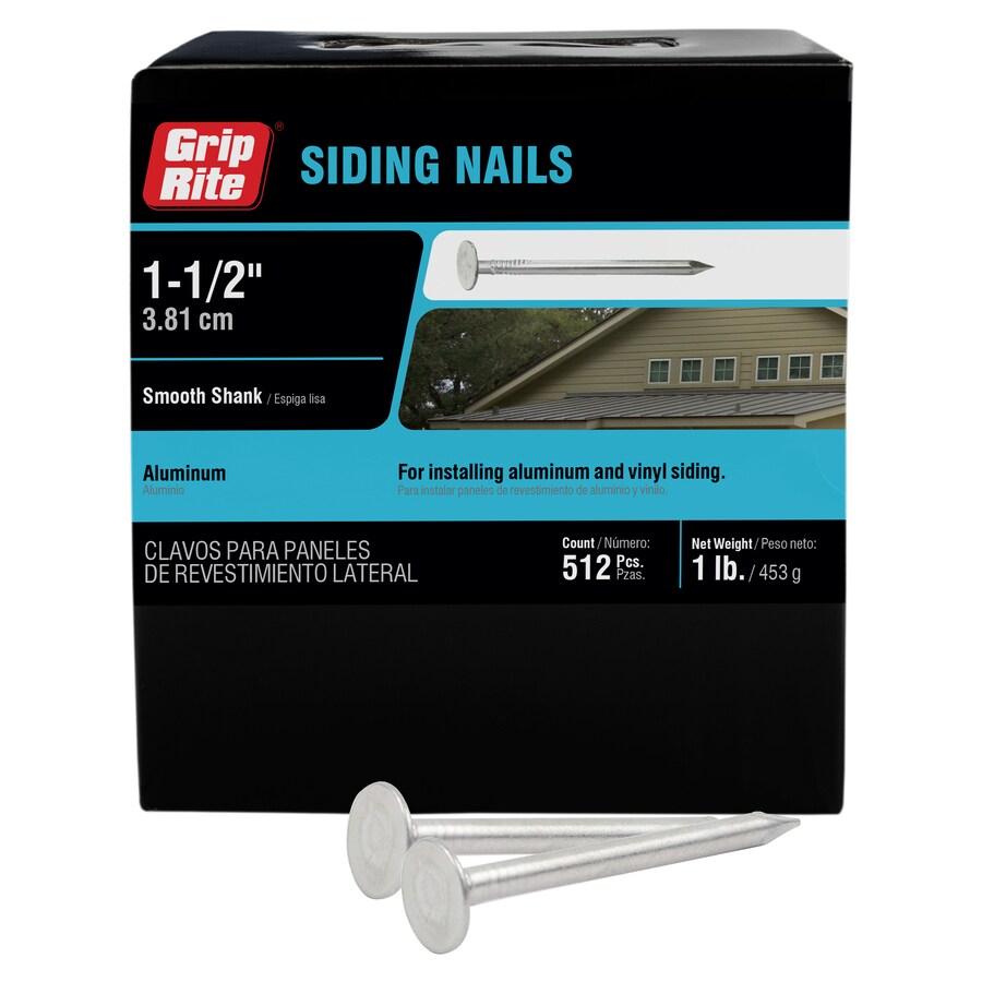 Grip-Rite 1-lb 11.5-Gauge 1.5-in Sliver Aluminum Siding Nails