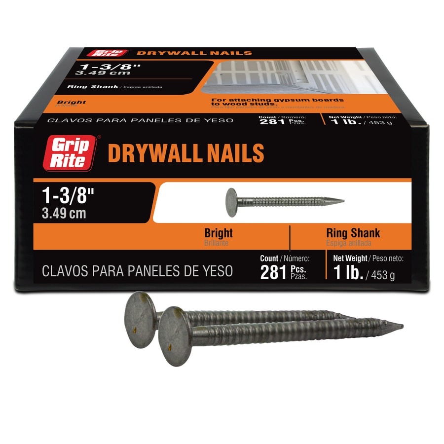 Grip-Rite 1.275-in Drywall Nail