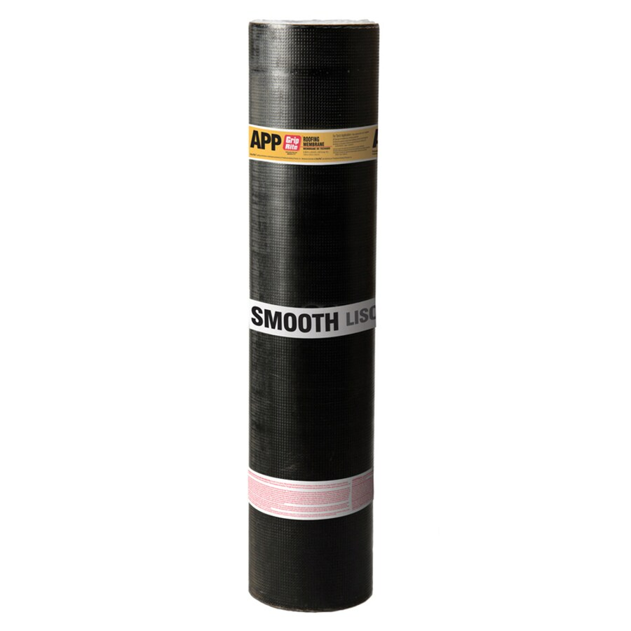 Grip-Rite 3.38-ft W x 32.8-ft L 100-sq ft Black Roll Roofing
