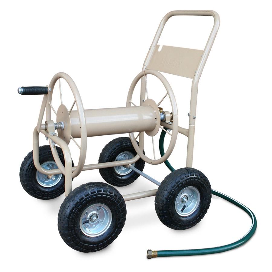 Liberty Garden Products Steel 300-ft Cart Hose Reel