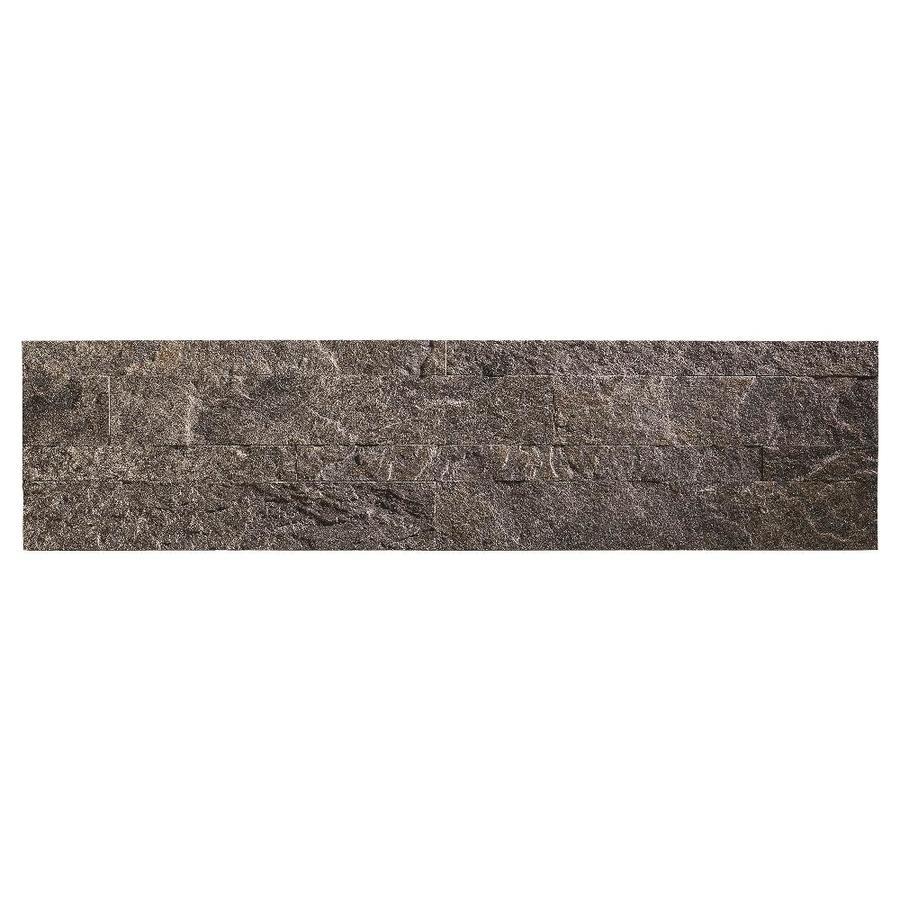 Aspect Stone 6-in x 24-in Frosted Quartz Stone Backsplash