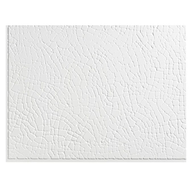 Fasade Fasade 18in x 24in Safari Matte White Backsplash