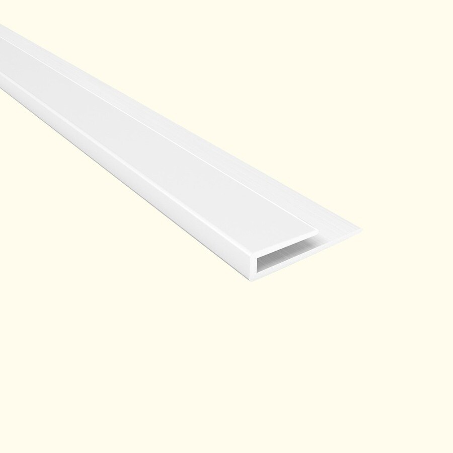Ceiling Trim Lowes: Shop ACP 48-ft Gloss White Pvc Smooth Ceiling Grid Trim At