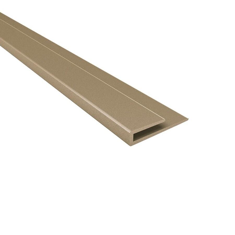 Ceiling Trim Lowes: Shop ACP Argent Bronze PVC Smooth J-Channel Ceiling Grid